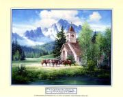 Friends in High Places art print by Jack Sorenson