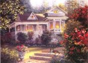 A Canine Sanctuary art print by Nicky Boehme