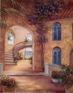 Patio Archway I by Vivian Flasch