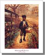 Protecting the Groceries art print by Edward Lamson Henry