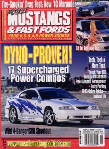 Muscle Mustang and Fast Fords Magazine Subscription