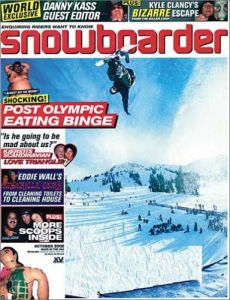 Snowboarder Magazine Subscription