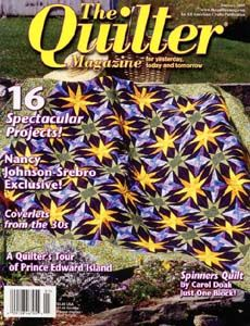 The Quilter Magazine Subscription